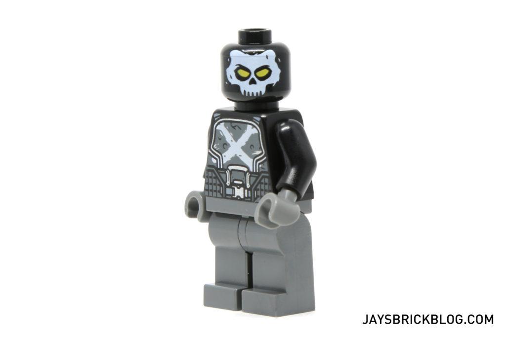 LEGO 76050 Crossbones Hazard Heist - Crossbones Minifigure Face