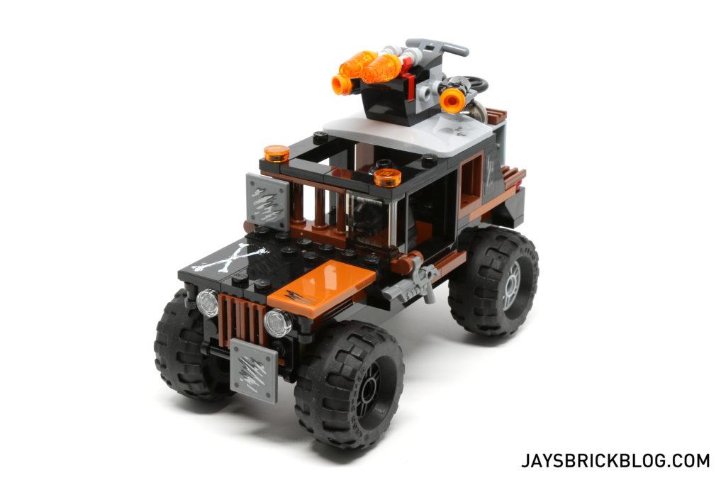LEGO 76050 Crossbones Hazard Heist - Crossbones Truck