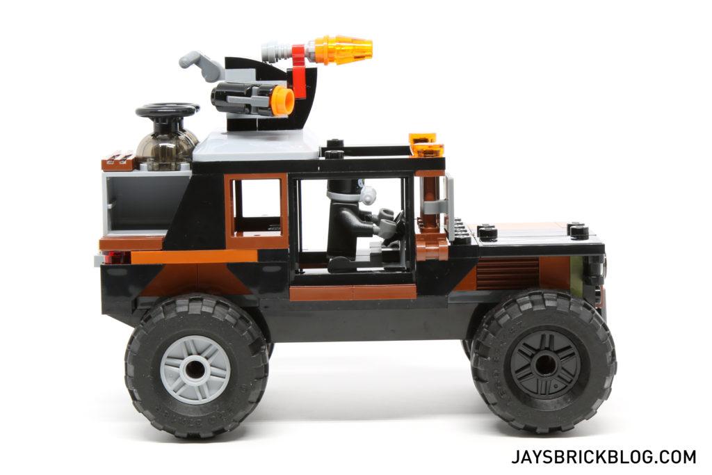 LEGO 76050 Crossbones Hazard Heist - Crossbones Truck Side View