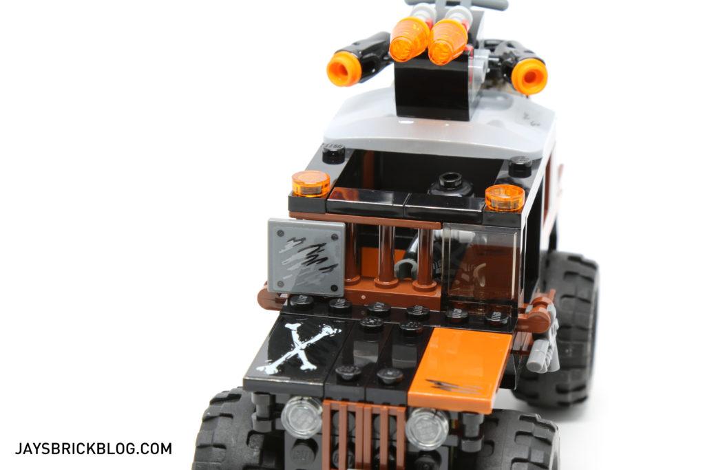 LEGO 76050 Crossbones Hazard Heist - Crossbones Truck Windscreen