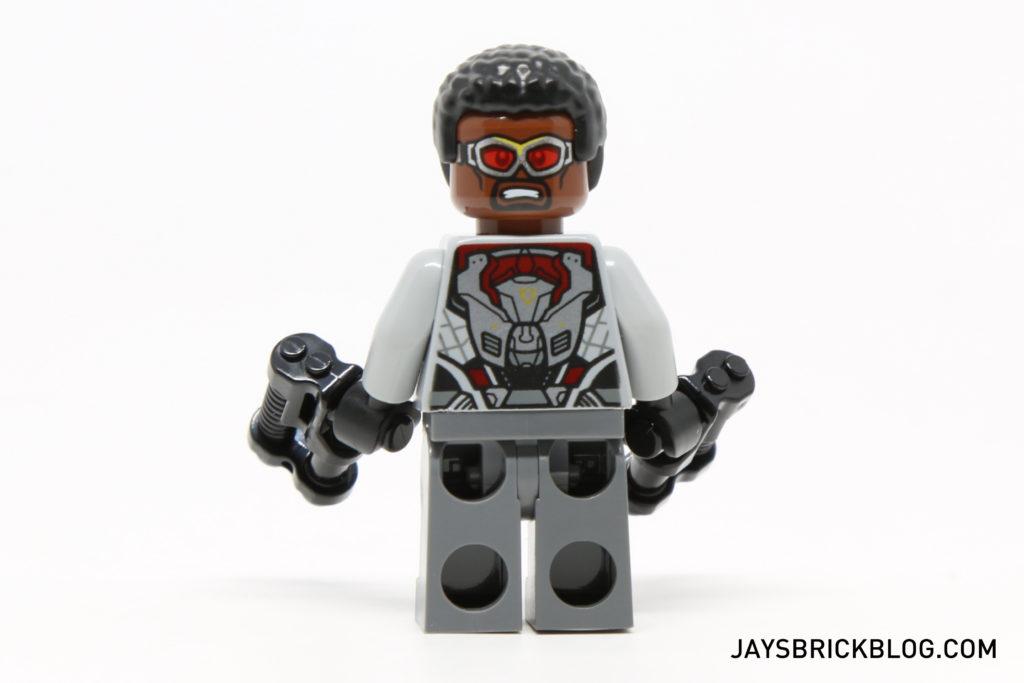 LEGO 76050 Crossbones Hazard Heist - Falcon Minifig Back Printing