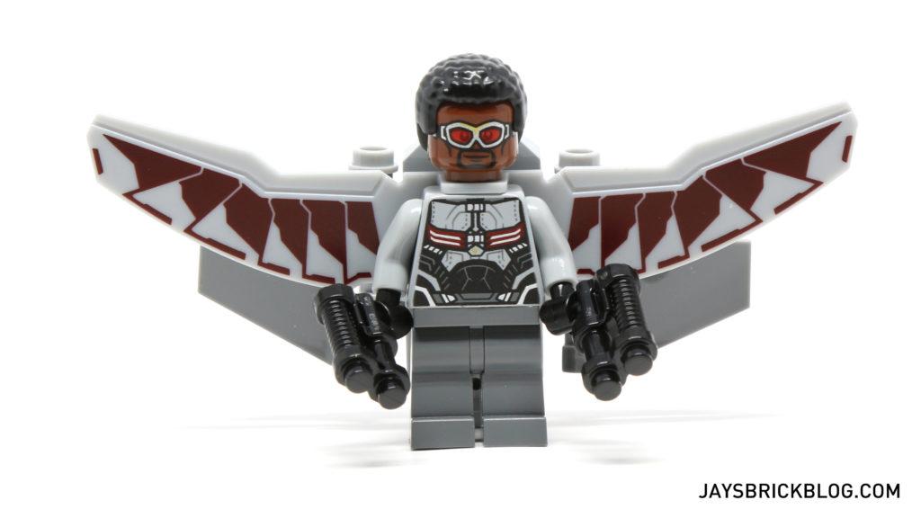 LEGO 76050 Crossbones Hazard Heist - Falcon Minifigure