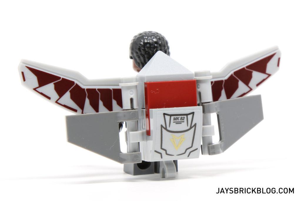 LEGO 76050 Crossbones Hazard Heist - Falcon Minifigure Jetpack