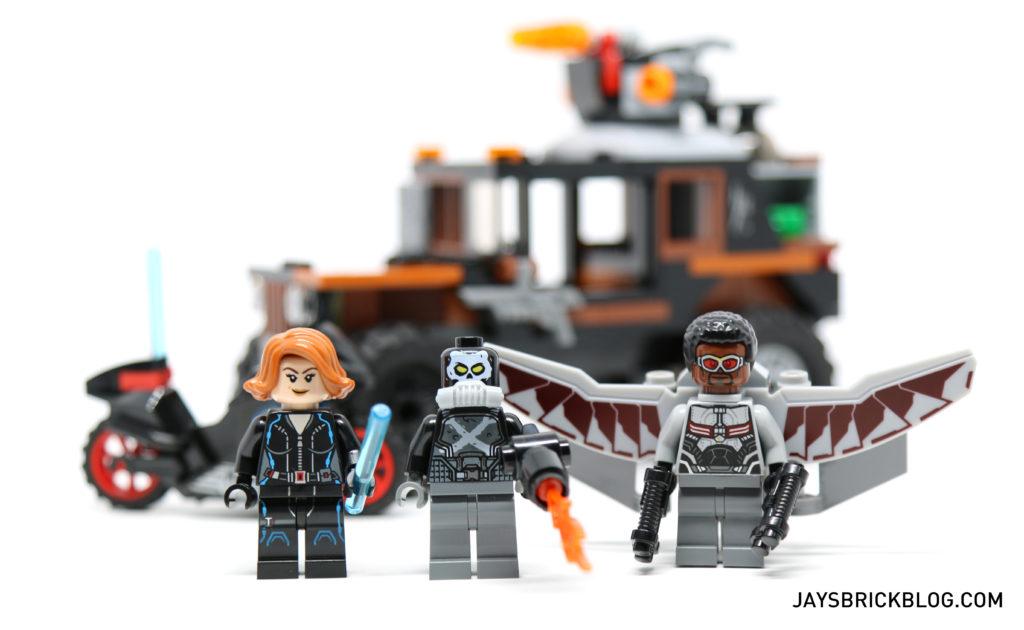 LEGO 76050 Crossbones Hazard Heist - Minifigures