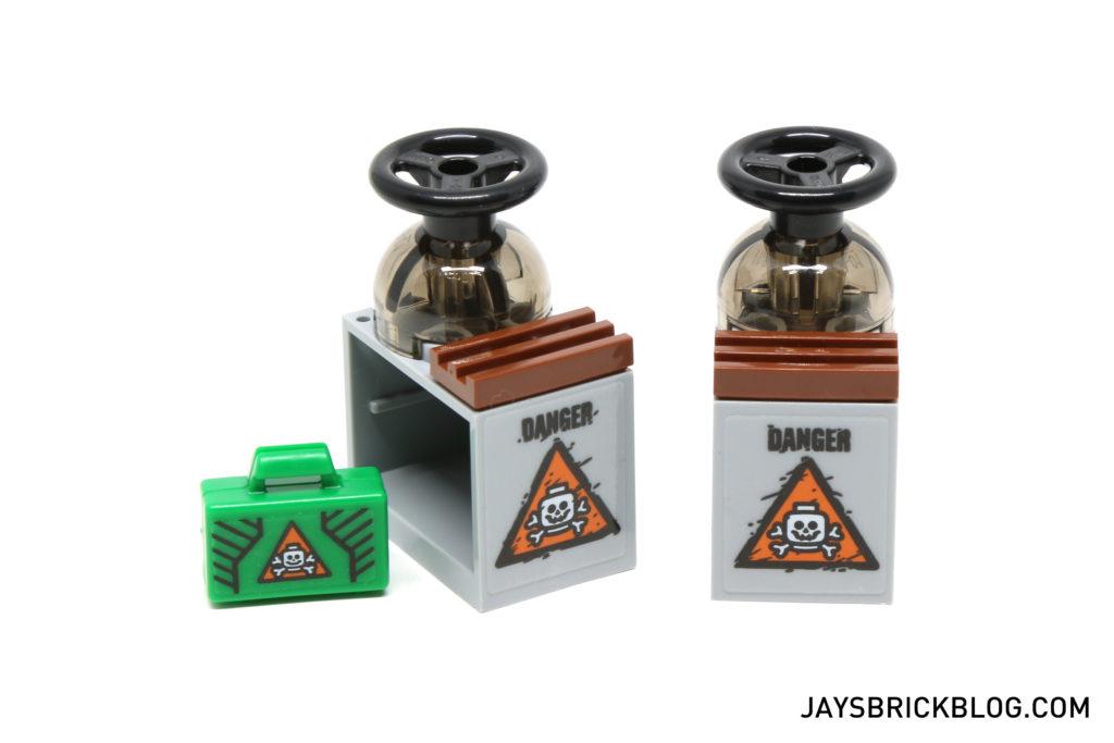 LEGO 76050 Crossbones Hazard Heist - Toxic Material
