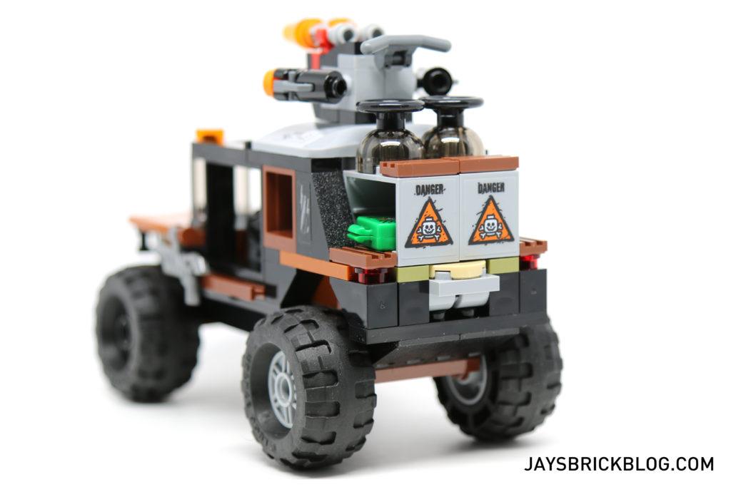 LEGO 76050 Crossbones Hazard Heist - Truck Back View