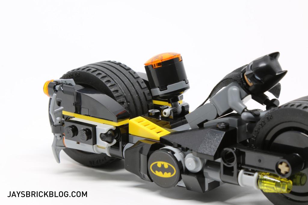 LEGO 76053 Gotham City Cycle Chase - Back Stud Shooters
