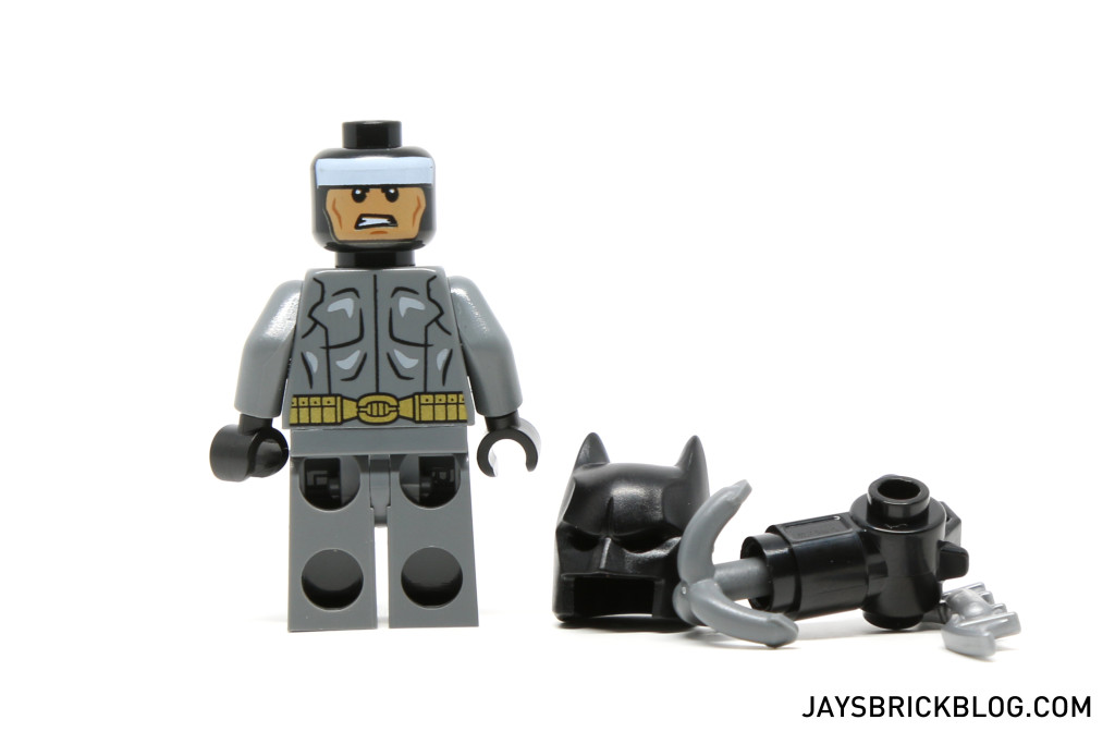 LEGO 76053 Gotham City Cycle Chase - Batman Minifig Alternate Face Printing