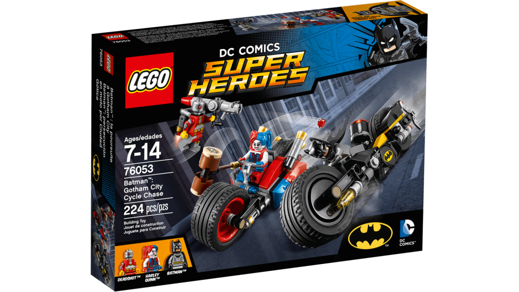 LEGO 76053 Gotham City Cycle Chase - Box