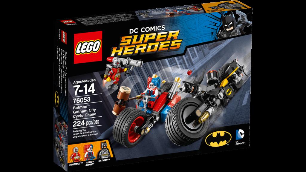 LEGO 76053 Gotham City Cycle Chase - Box
