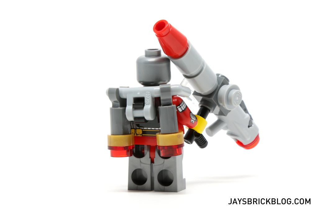 LEGO 76053 Gotham City Cycle Chase - Deadshot Jetpack