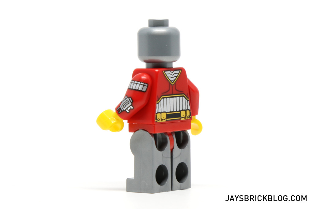 LEGO 76053 Gotham City Cycle Chase - Deadshot Minifig Back Printing