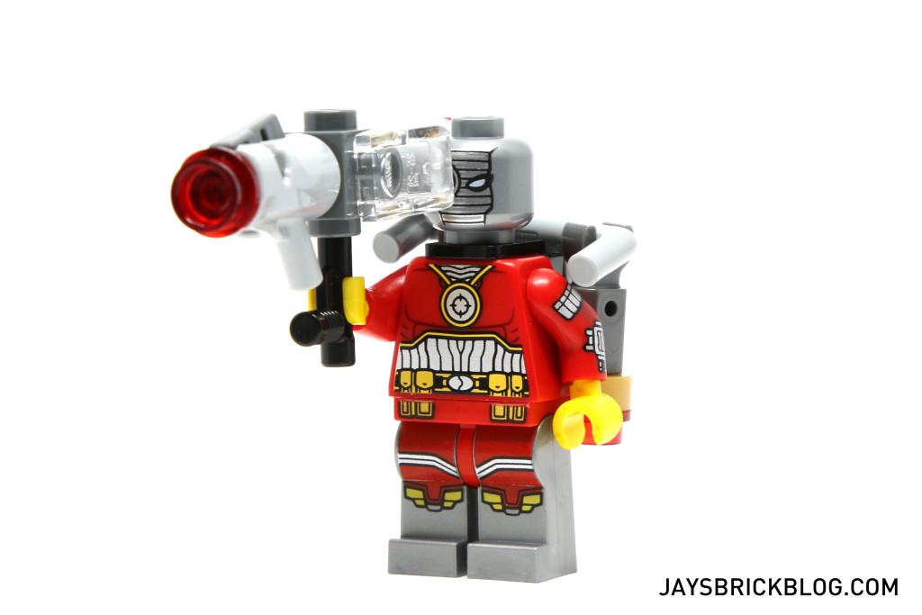 LEGO 76053 Gotham City Cycle Chase - Deadshot Minifig Gun