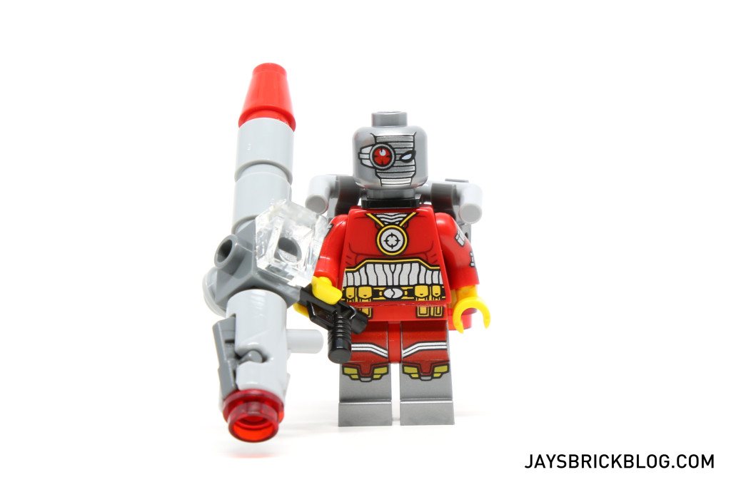 LEGO 76053 Gotham City Cycle Chase - Deadshot Minifigure