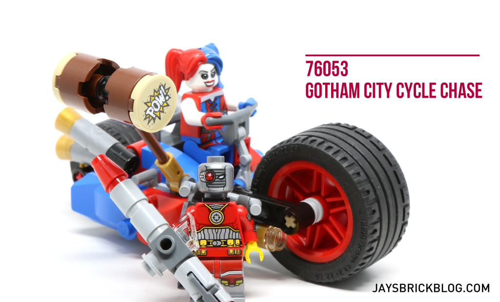 Review: LEGO 76053 Batman Gotham City Cycle Chase