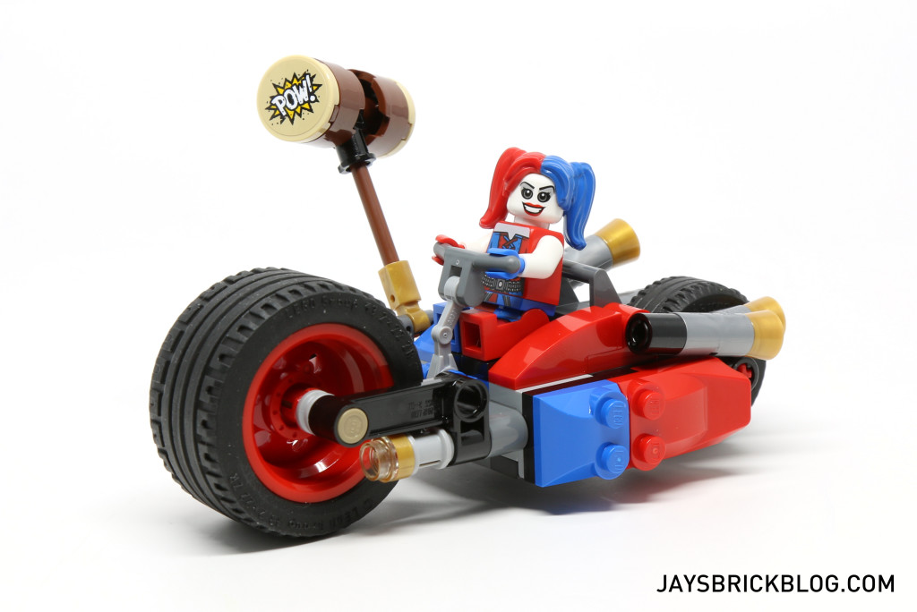 LEGO 76053 Gotham City Cycle Chase - Harley Quinn Bike