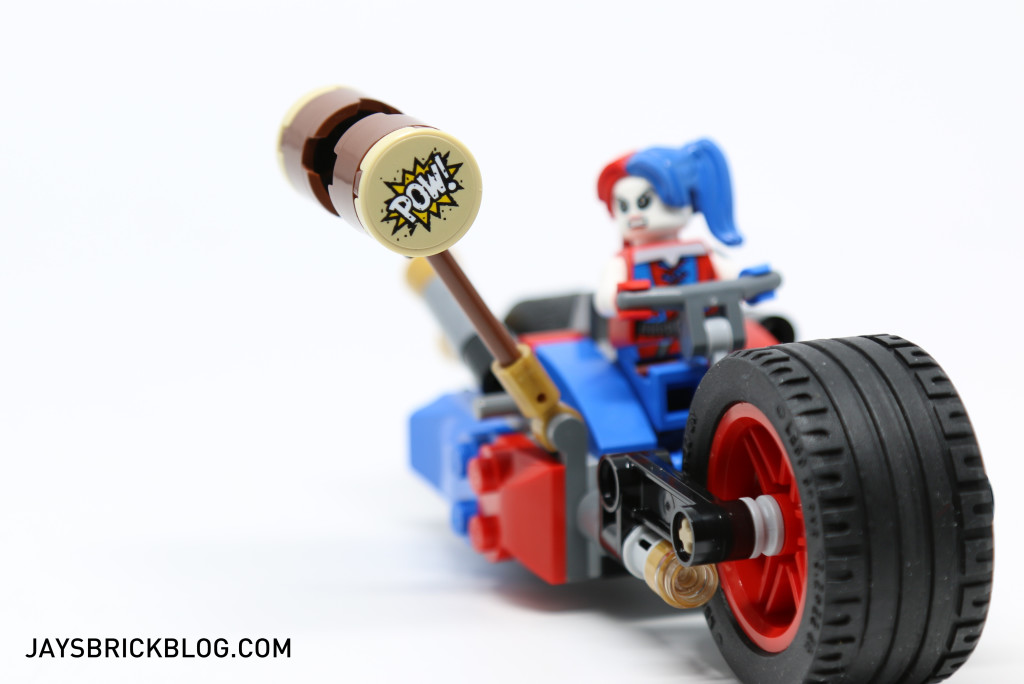 LEGO 76053 Gotham City Cycle Chase - Harley Quinn Bike Hammer
