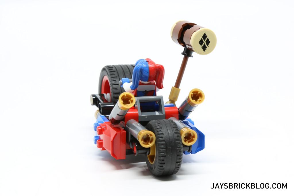 LEGO 76053 Gotham City Cycle Chase - Harley Quinn Hammer Back