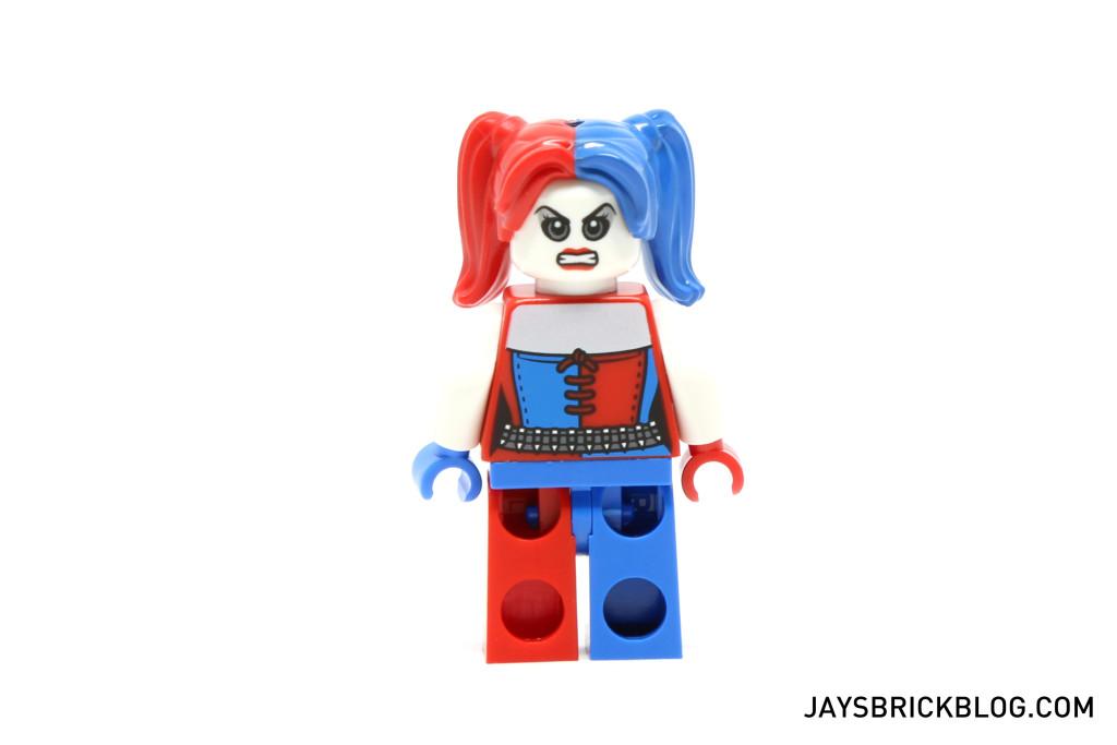 LEGO 76053 Gotham City Cycle Chase - Harley Quinn Minifig Back Printing