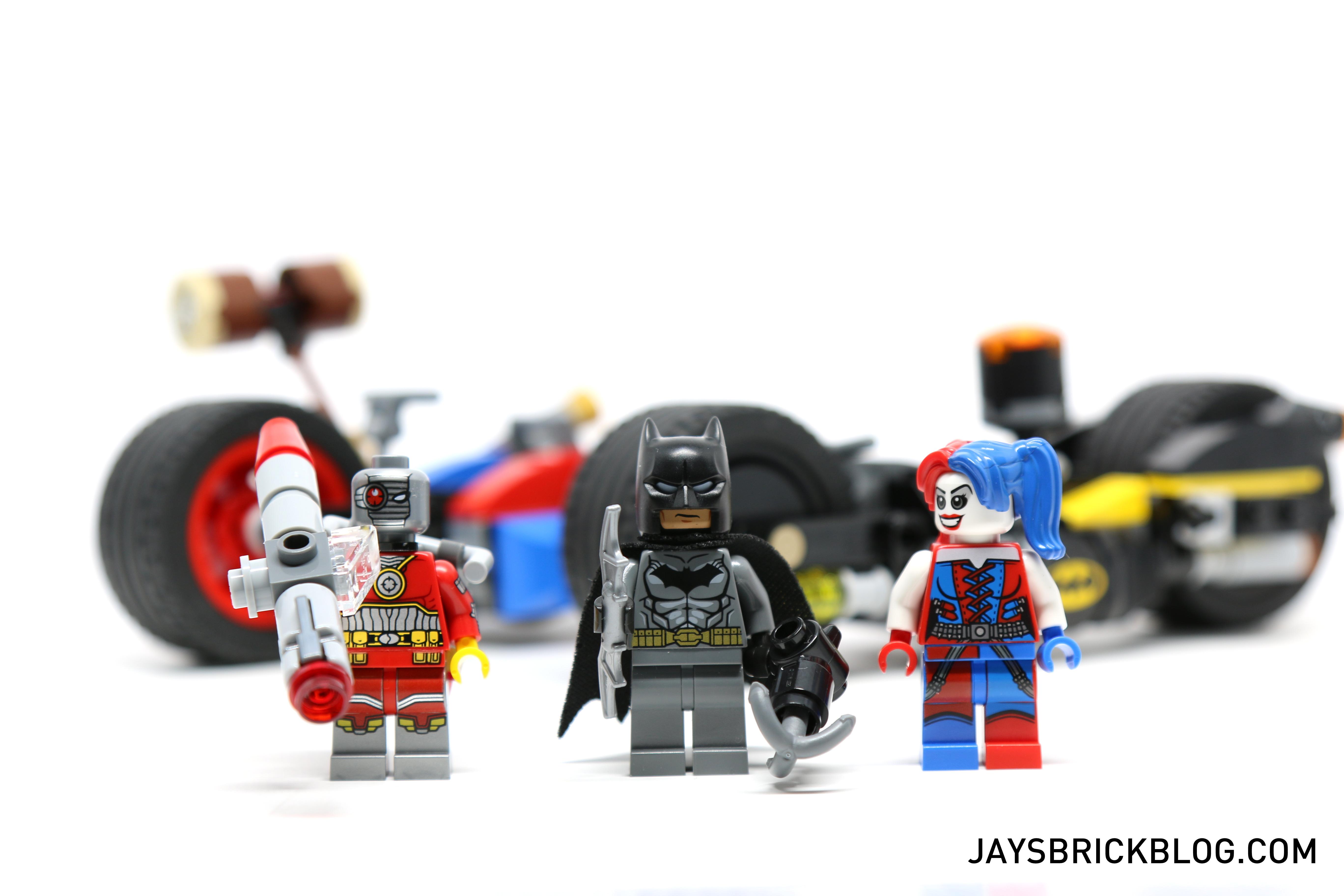 Lego DC Super Heroes HARLEY QUINN MiniFigure Cycle Bike from 76053 Batman set