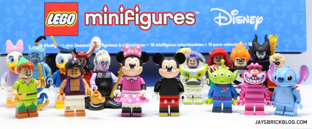 LEGO Disney Collectible Minifigure Characters