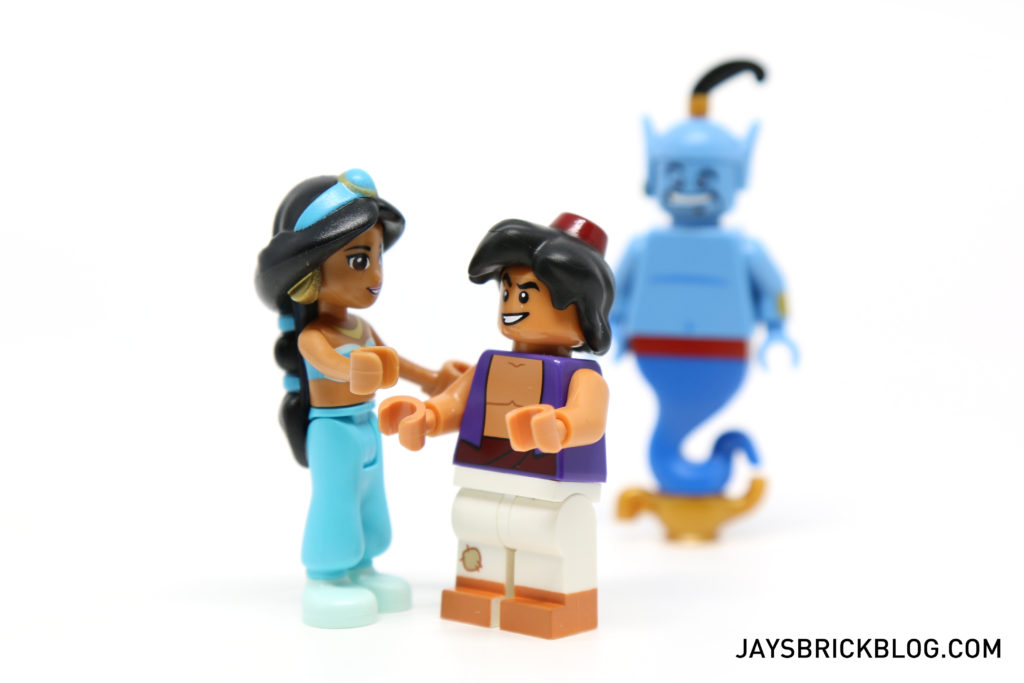 LEGO Disney Minifigures - Aladdin and Jasmine