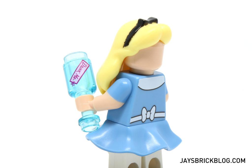 LEGO Disney Minifigures - Alice Back Printing
