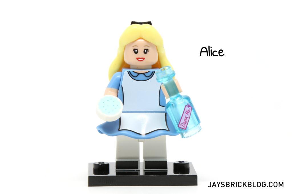 LEGO Disney Minifigures - Alice Minifig