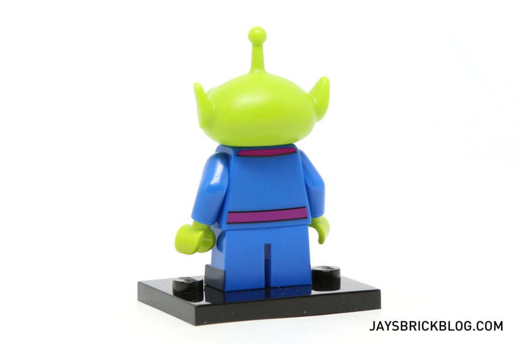 LEGO Disney Minifigures - Alien Back Printing