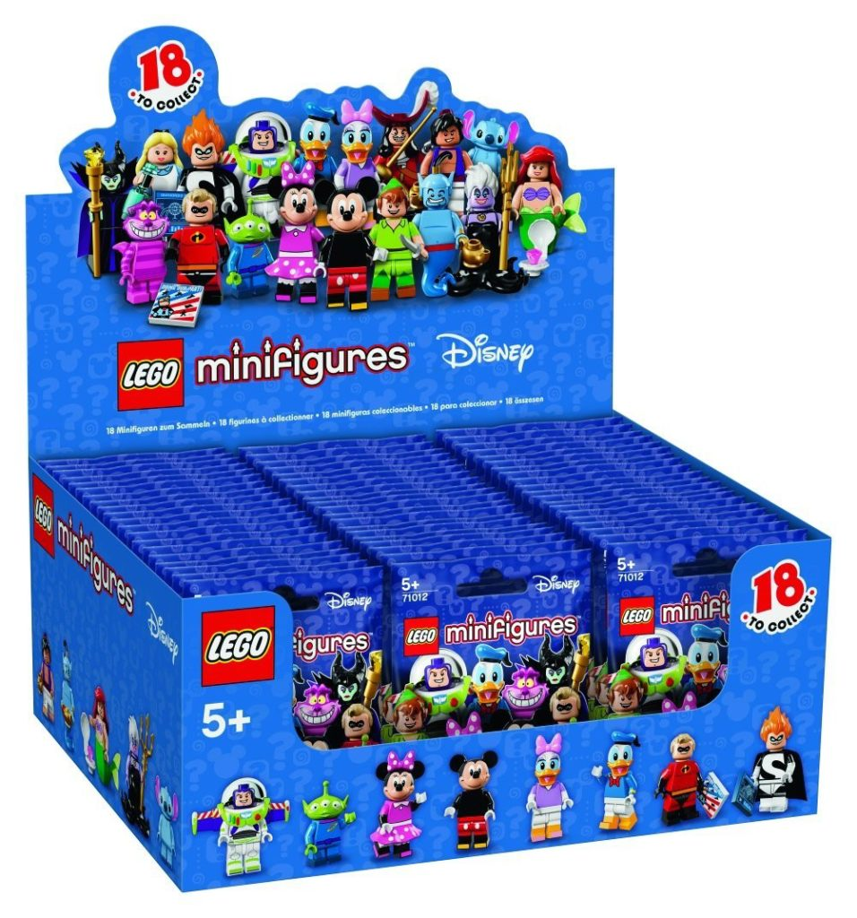 LEGO Disney Minifigures Box