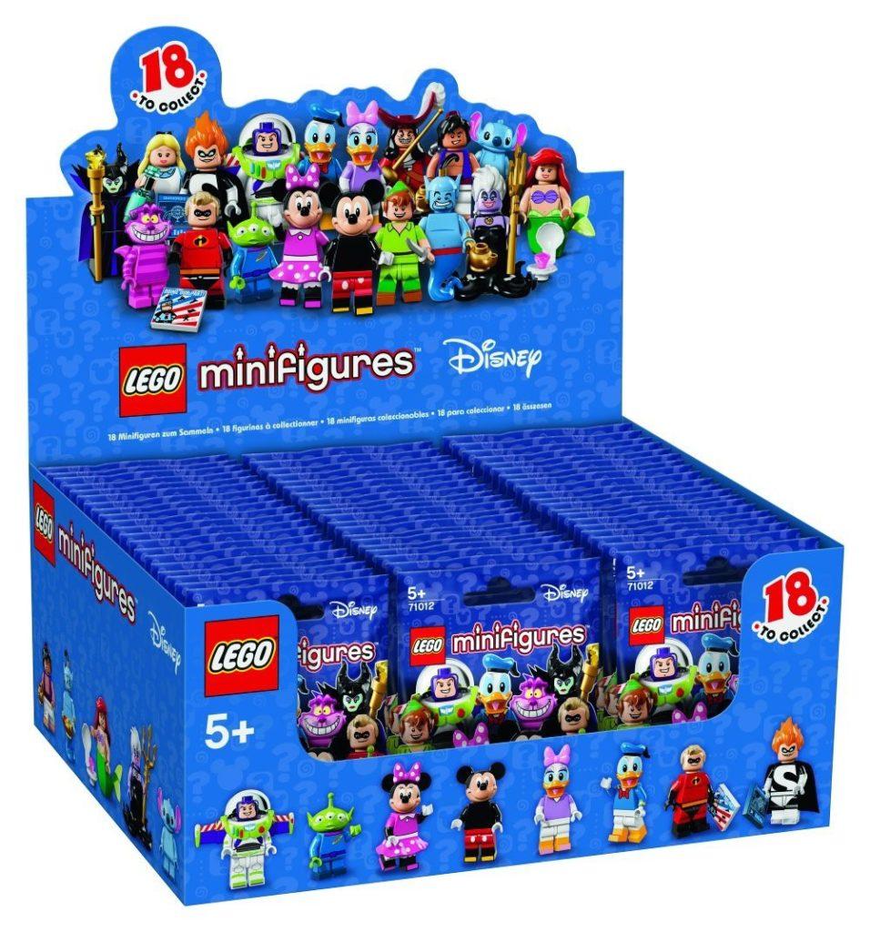 LEGO Disney Minifigures Box