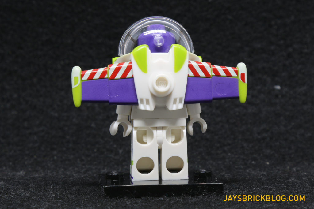 LEGO Disney Minifigures - Buzz Lightyear Back View