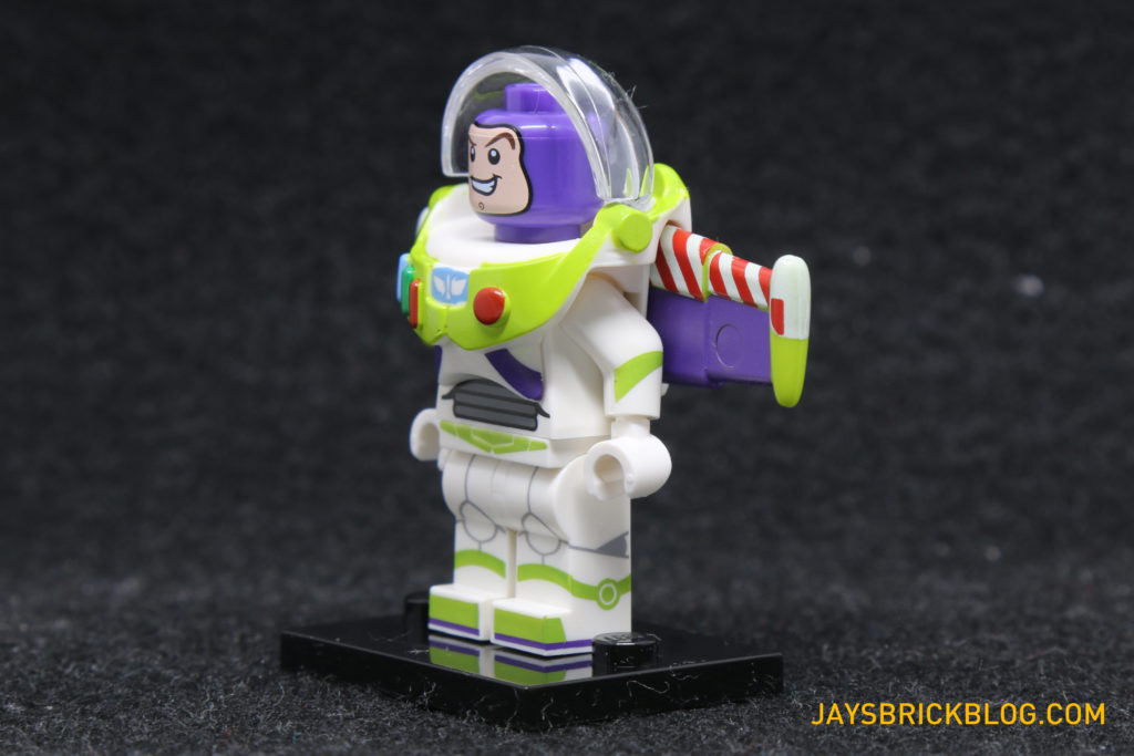 LEGO Disney Minifigures - Buzz Lightyear Side View