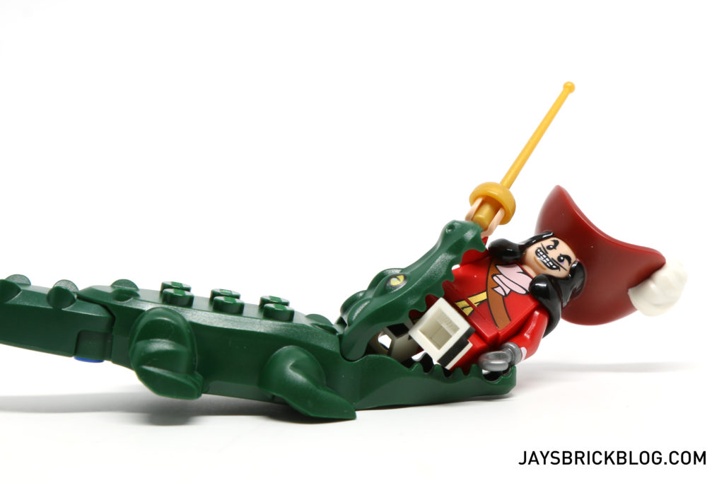 LEGO Disney Minifigures - Captain Hook Crocodile