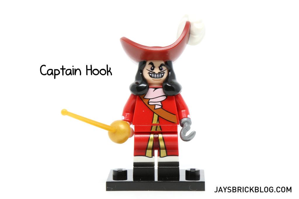 LEGO Disney Minifigures - Captain Hook Minifig