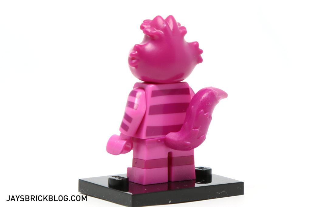 LEGO Disney Minifigures - Cheshire Cat Back Printing