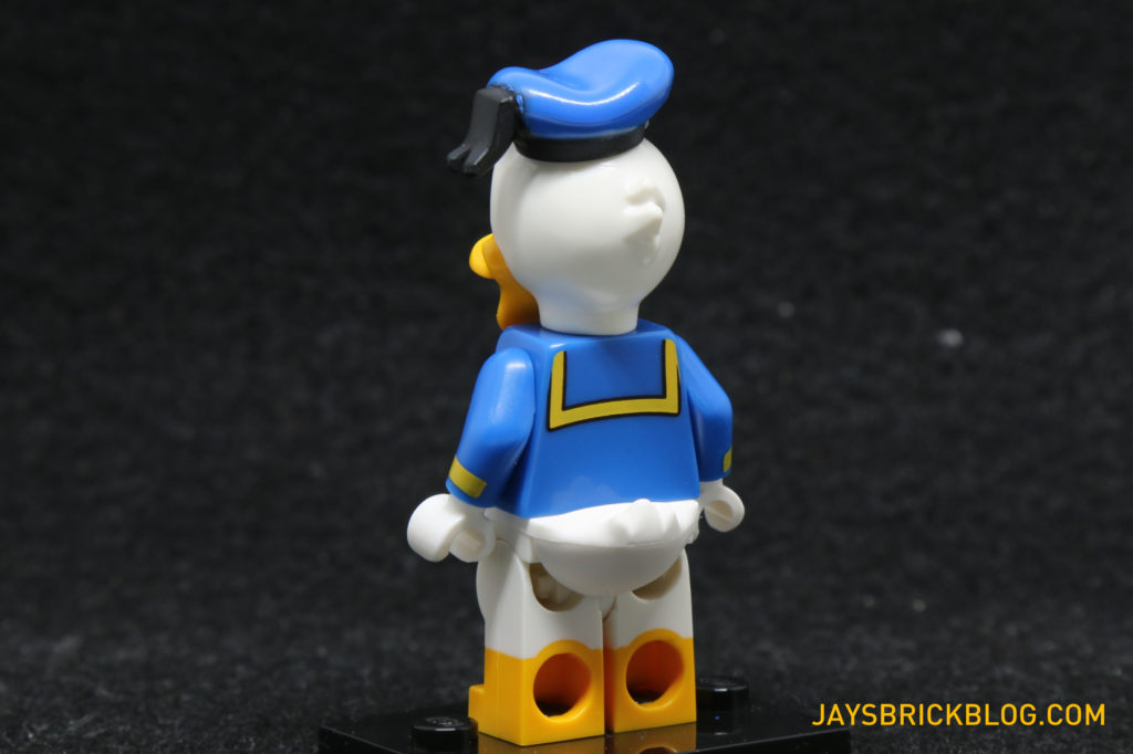 LEGO Disney Minifigures - Donald Duck Minifig Back