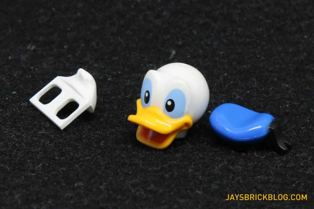 LEGO Disney Minifigures - Donald Duck Parts