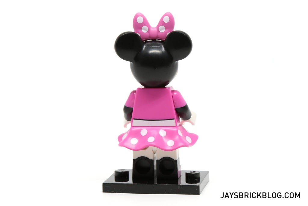LEGO Disney Minifigures - Minnie Mouse Back View