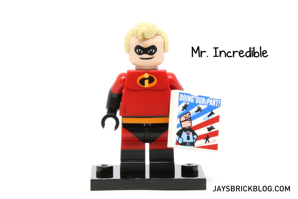 LEGO Disney Minifigures - Mr Incredible Minifig
