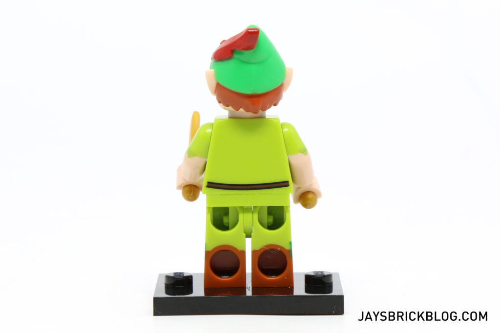 LEGO Disney Minifigures - Peter Pan Back View