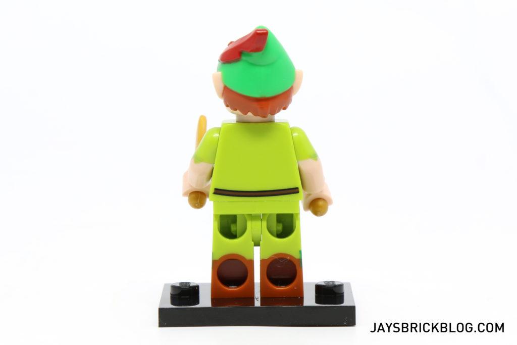 LEGO Disney Minifigures - Peter Pan Back View