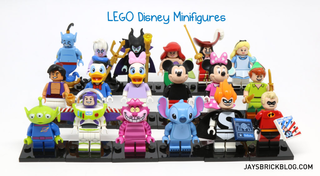 Review: LEGO Disney Minifigures