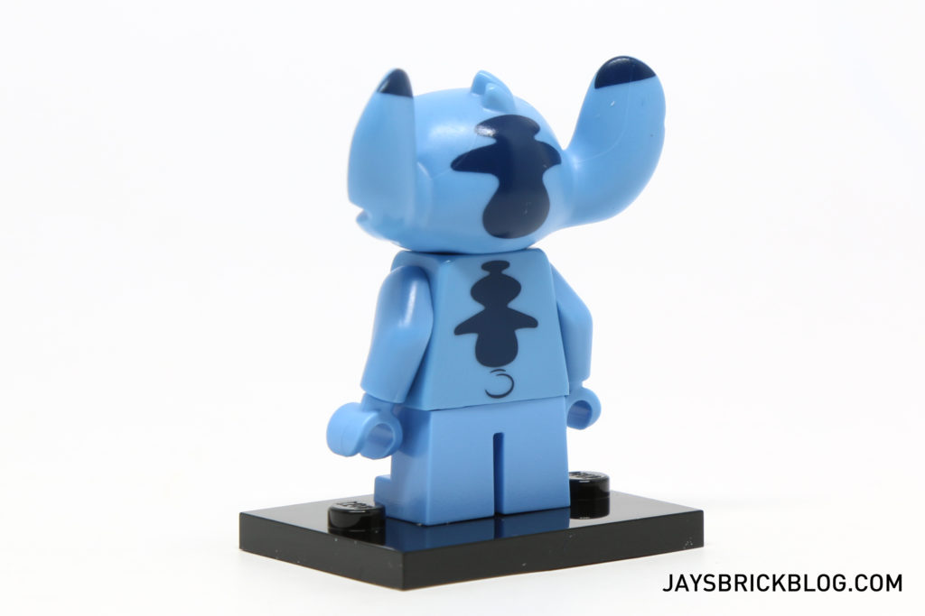 LEGO Disney Minifigures - Stitch Back Printing