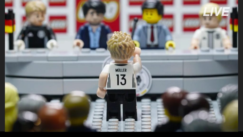 LEGO Minifigures Special Series - German National Football Team Back Printing