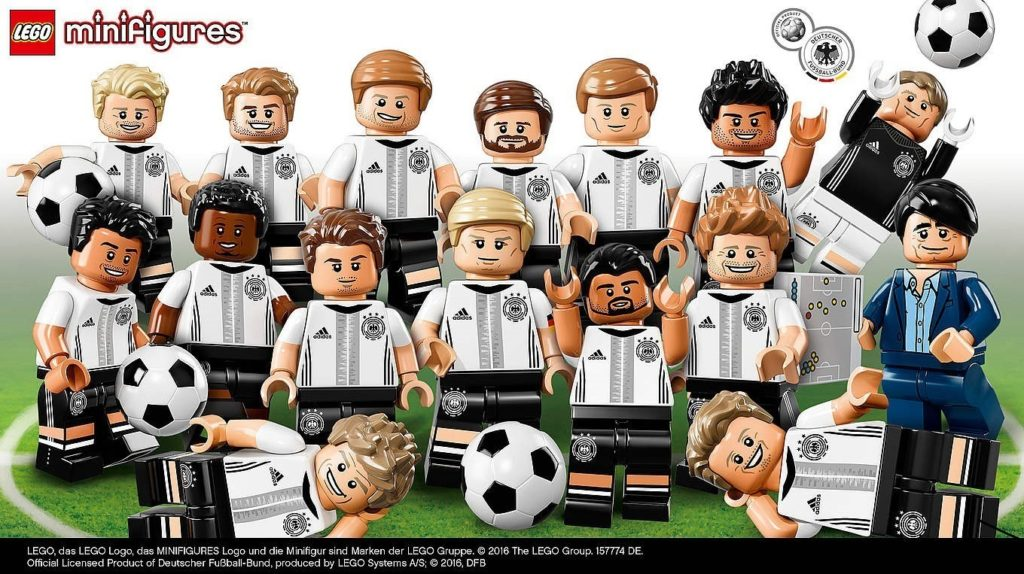 LEGO announces German National Football Team Minifigure Series