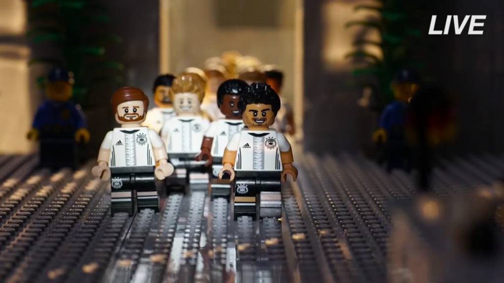 LEGO Minifigures Special Series - German National Football Team Press Conference