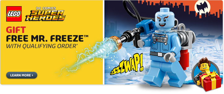 LEGO Online Store Mr Freeze Promo April 2016