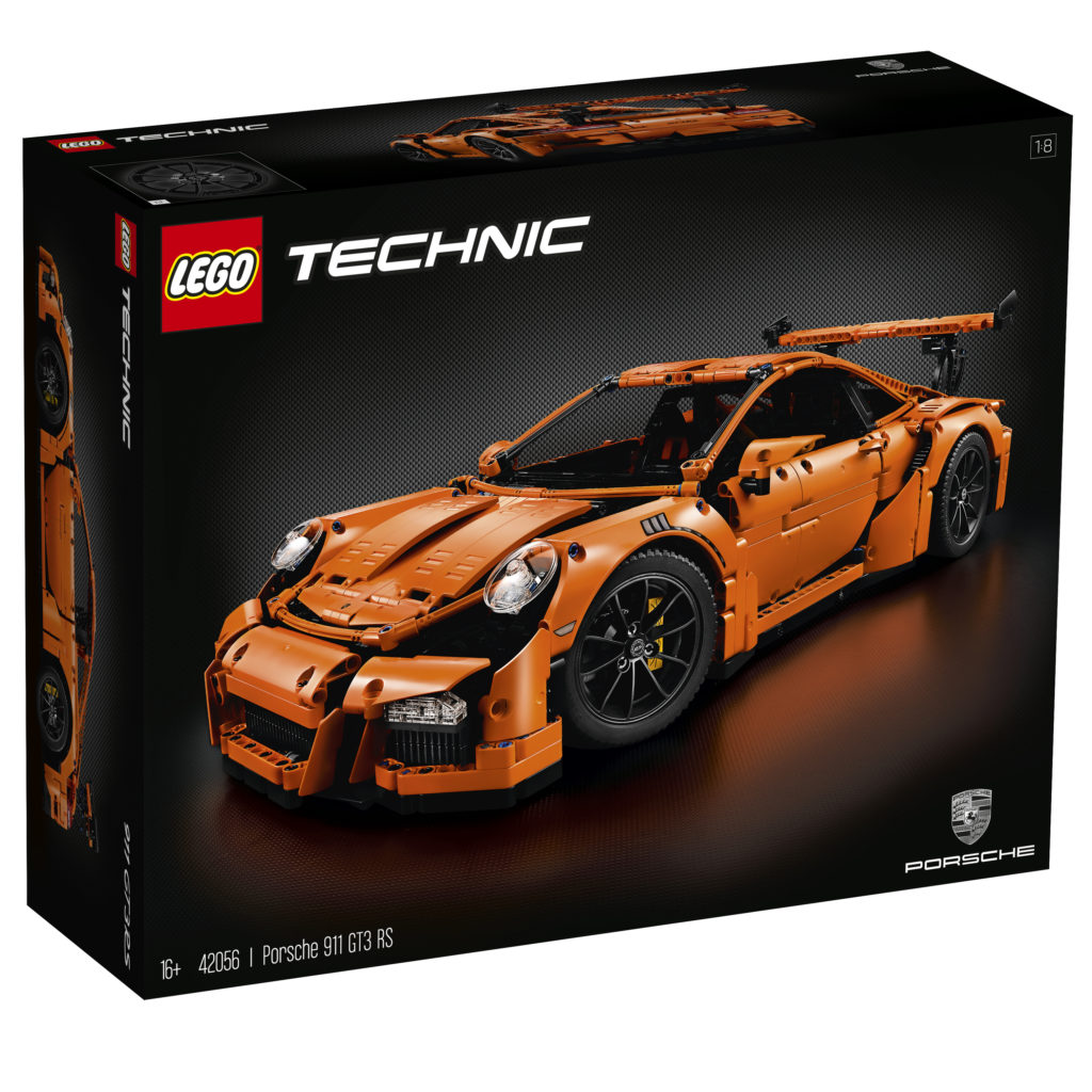 LEGO Technic 42056 Porsche 911 - Box Art