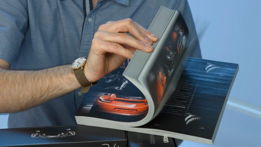 LEGO Technic 42056 Porsche 911 - Collector's Book